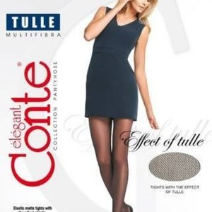 Conte Women's Tights - Tulle - Size 3(M)